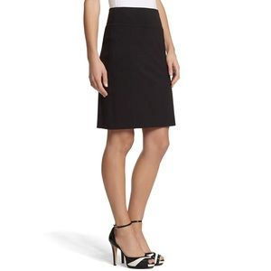 WHBM Instantly Slimming Black Pencil Skirt - New!